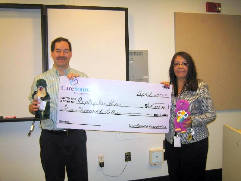CareSource big check