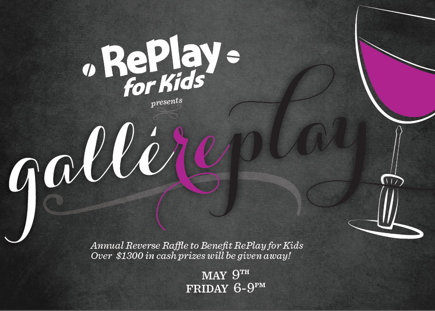 2014 Gallereplay Invitation front