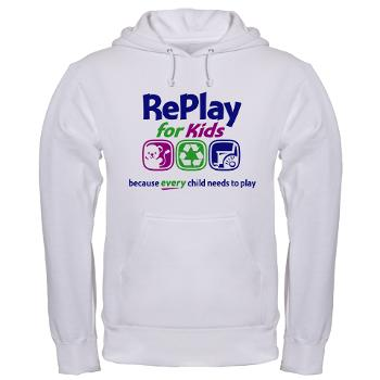RePlay for Kids hooded sweatshirt