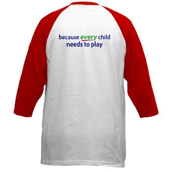 RePlay for Kids red jersey back