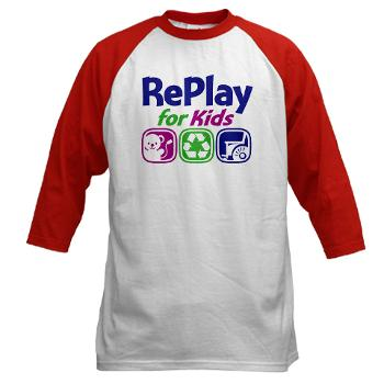 RePlay for Kids red jersey front