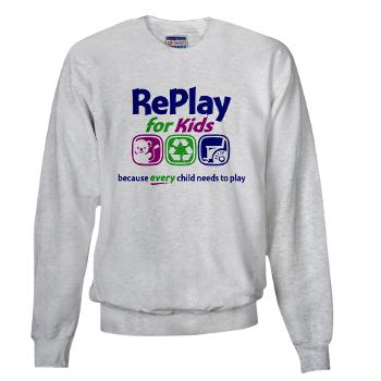 RePlay for Kids sweatshirt