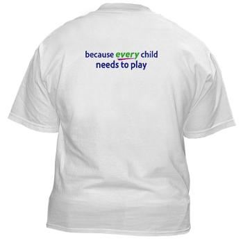 RePlay for Kids Tshirt back
