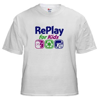 RePlay for Kids Tshirt front